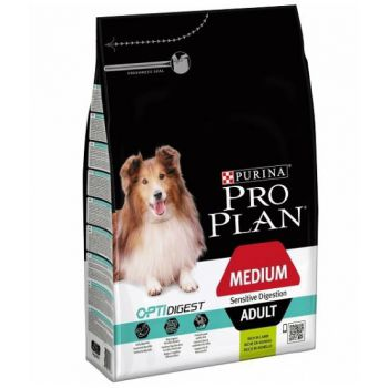 Pro Plan Optidigest - Lamb for Medium Sensitive Adult Dog 14KG