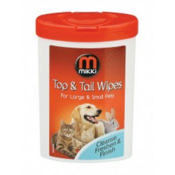 Top & Tail Wipes - Small (17pk)