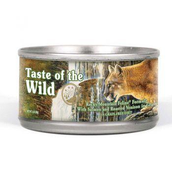 Taste Of The Wild Rocky Mountain Cat Wet  85gr