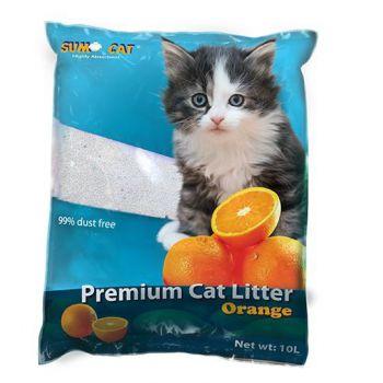SUMO CAT LITTER ORANGE 10L