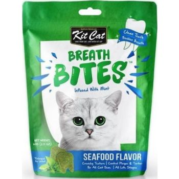 Breath Bites Seafood Flavor 60g