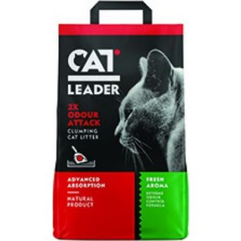 Geohellas Cat Litter  2 x Odour Atract Fresh Clumping Cat Litter Fresh Aroma-10 KG