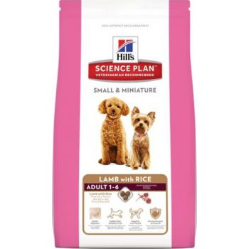 Hill's Science Plan Canine Adult Small & Miniature w/ Lamb & Rice 1.5kg