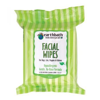 HYPOALLERGENIC FACIAL WIPES  fragrance free 25pcs