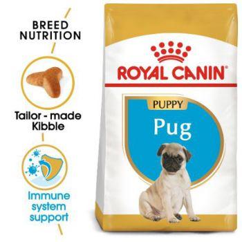 Royal Canin Dog Dry Food Pug Junior 1.5 KG
