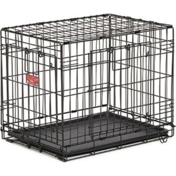 Dog Crate Life Stages Double Door 24""