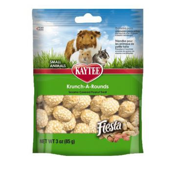 Kaytee Fiesta Krunch-A-Rounds Treat for Small Animals, 3 oz