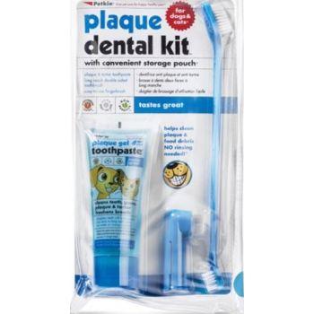 Petkin Plaque Dental Kit Mint Flavour