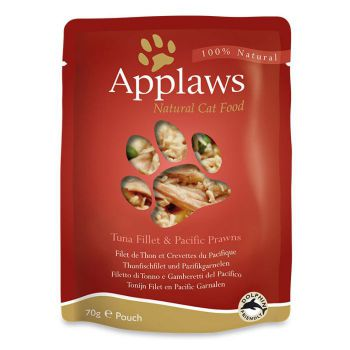 Applaws Cat Wet Food Tuna with Prawn 70g Pouch