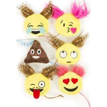 SmartyKat® Mouse Moods™ - Combination Of Heart Eyes Wink Tongue Eye Roll Laugh Tears Poop Kiss