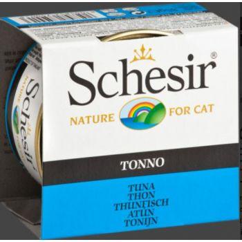 SCHESIR CAT CAN TUNA 85GM (C135)