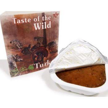 Taste Of The Wild Wet Food TURKEY Fruit & Veg Tray 390G