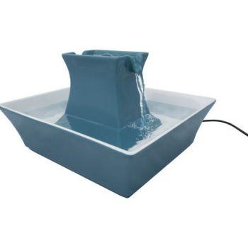 Water Fountain Drinkwell PAGODA Pet Fountain Blue