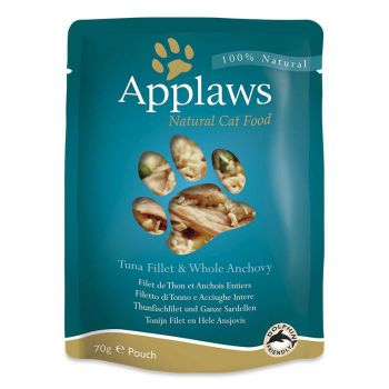 Applaws Cat Wet Food Tuna with Anchovy 70g Pouch