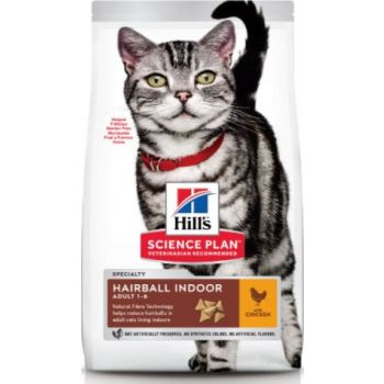 Science Plan Hairball Indoor Adult Cat Food With Chicken (1.5kg)