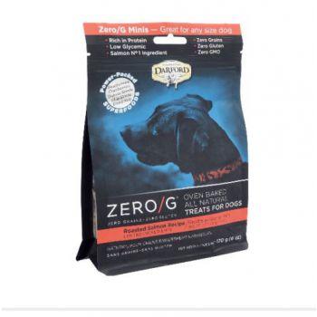 Darford Zero G Dog Treats MINI Roasted SALMON 170g / 6oz