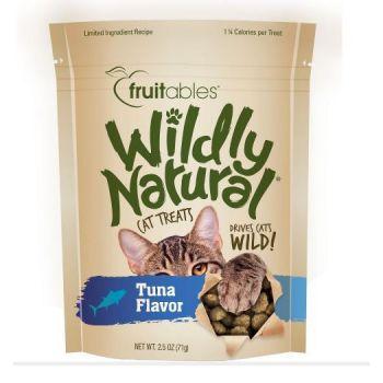 Fruitables Wildly Natural Cat Treats Tuna Flavor (71g)