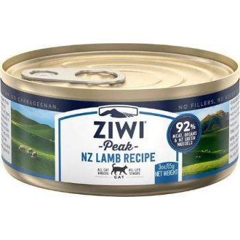ZiwiPeak Lamb Recipe Canned Cat Food 85g