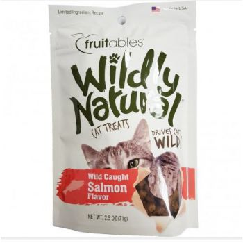 Fruitables Wildly Natural Cat Treats Salmon Flavor (71g)