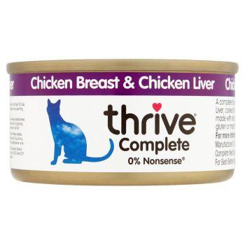Thrive Complete Cat Chicken & Liver Wet Food 75G