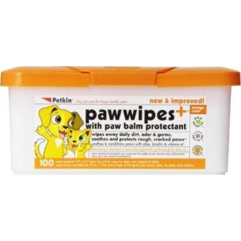 Petkin Paw Wipes - 100ct