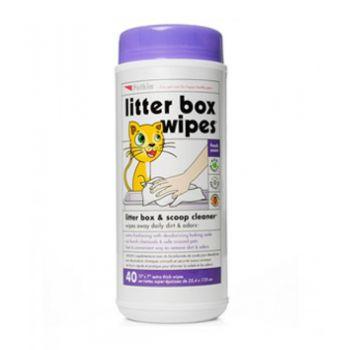 Petkin Litter Box Wipes