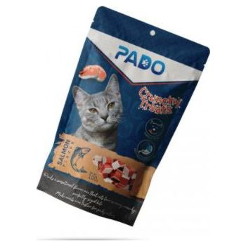 PADO CRUNCHY CAT TREATS SALMON 100G