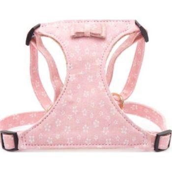Pawsitiv Handmade Easy Walk Harness - Daisy (1723) - Pink Small