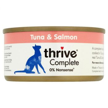 Thrive Complete Cat Tuna & Salmon Wet Food 75G