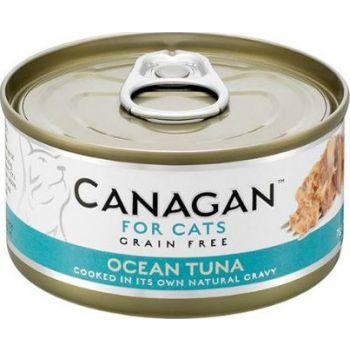 Canagan Ocean Tuna Cat Tin Wet Food 75g