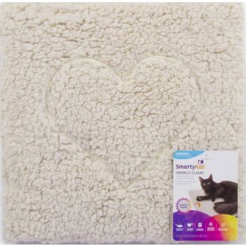 SmartyKat® Crinkle Cloud™ Plush Crinkle Cat Mat And Bed
