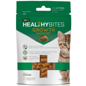 M&C Healthy Bites Growth Support for Kittens