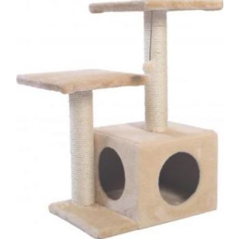 PAWSITIV CAT TREE - BAILEYS - BEIGE COLOR