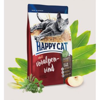 Happy Cat Adult Voralpen-Rind (Bavarian Beef) - 4 KG