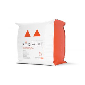Boxiecat Extra Strength, Scent-free, Premium Cat Litter  Clumping Clay  7.26kg