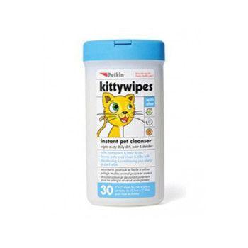 Petkin Original Kittywipes 30ct