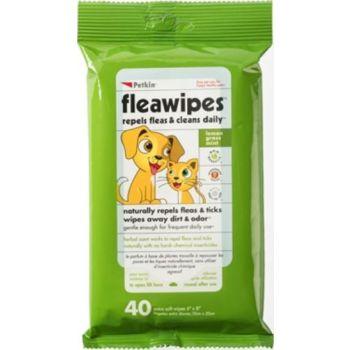 PetKin Fleawipes 40ct