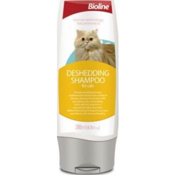 BIOLINE DESHEDDING SHAMPOO FOR CAT 200ML