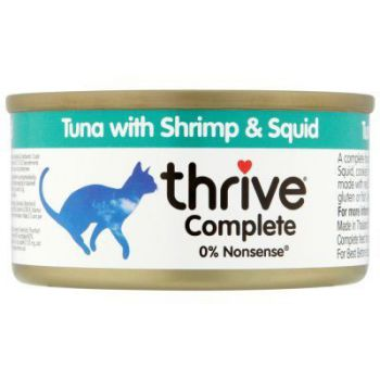 Thrive Complete Cat Tuna w/ Shrimp & Squid Wet 75G