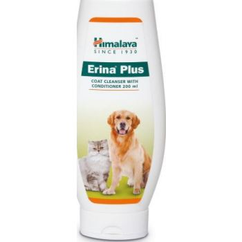 Himalaya Erina Plus Coat Cleanser with Conditioner, 200 ml