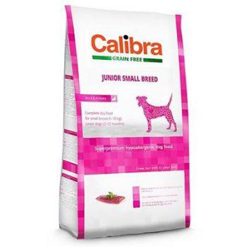 Calibra Sp Dry Dog Grain Free Junior Small Breed Duck 2Kg
