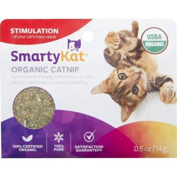 SmartyKat® Organic Catnip Pouch 0.5 Oz. In PDQ
