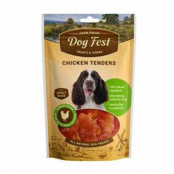 Dog Fest Chicken tenders for adult dogs - 90g (3.17oz)