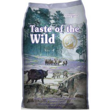 Taste Of The Wild Dog Dry Food Sierra Mountain Canine Formula 12.7kg