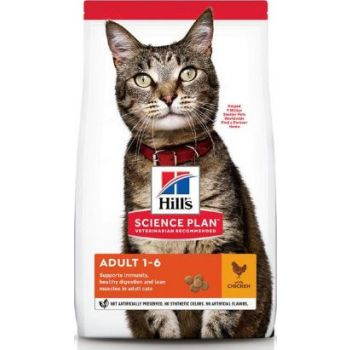 Hill's Science Plan Adult Chicken Dry Cat Food 300G