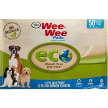 Four Paws Wee-Wee Pad 50ct  56x58cm