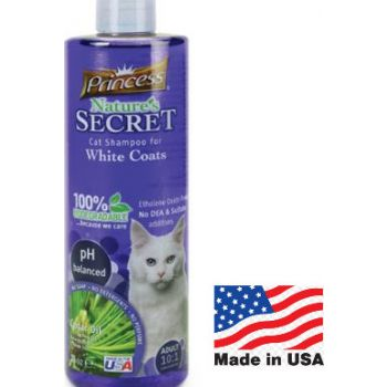 Princess Cat Shampoo White Coat 16oz
