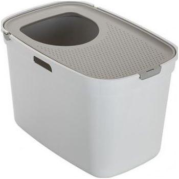MODERNA TOP CAT(TOILET) 59X39X38CM GREY WHITE (AG50)