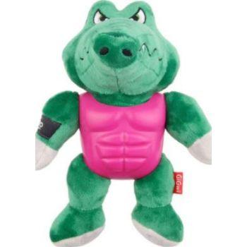 Im Hero Armor Alligator TPR / Plush with Squeaker Dog Toy