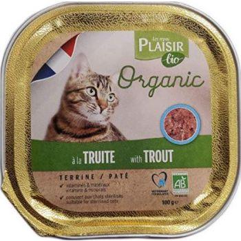 Plaisir Bio Terrine with Trout 100g